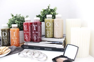 Proteins in Dietox Juices